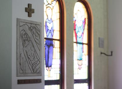 カトリック北仙台教会の施設について