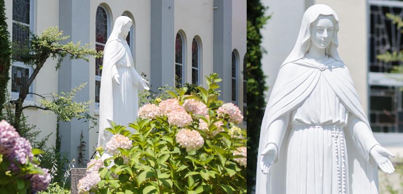 ロザリオの聖母像